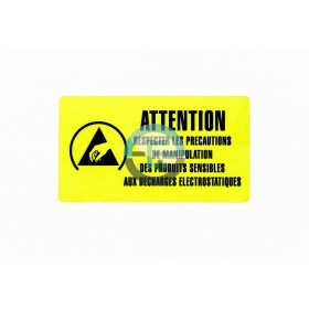 Label for shielding bags