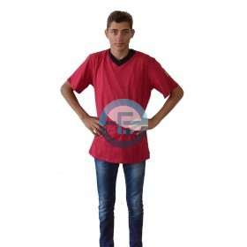 V-Neck ESD safe T-Shirt /red