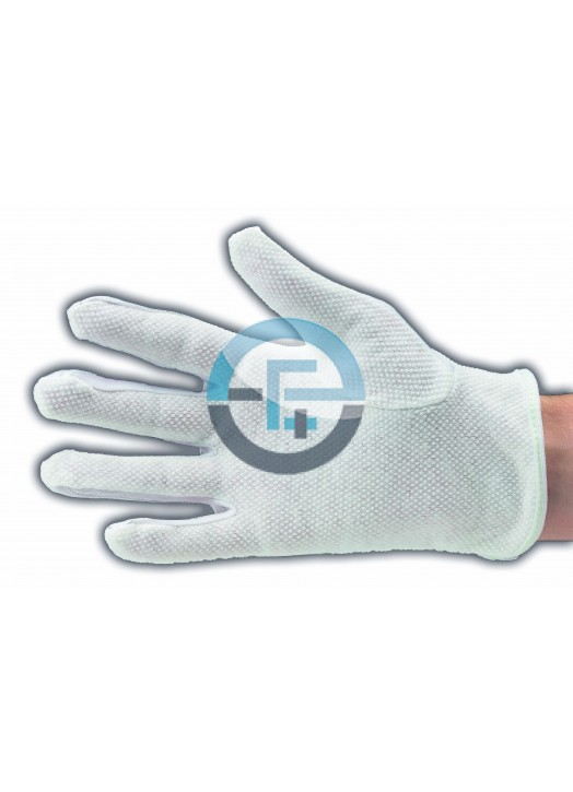 ESD Clean Room gloves with PVC dots
