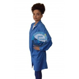 ESD Safe Eurostat Labcoat /blue