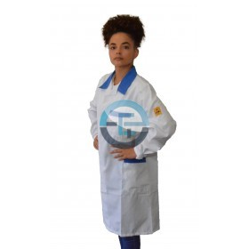 ESD safe Eurostat blue labcoat
