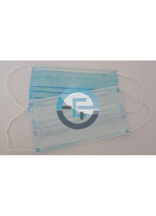 Disposable medical 3 ply Type IIR face mask
