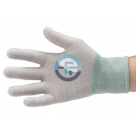 ESD Dissipative Nylon Light Gloves / grey
